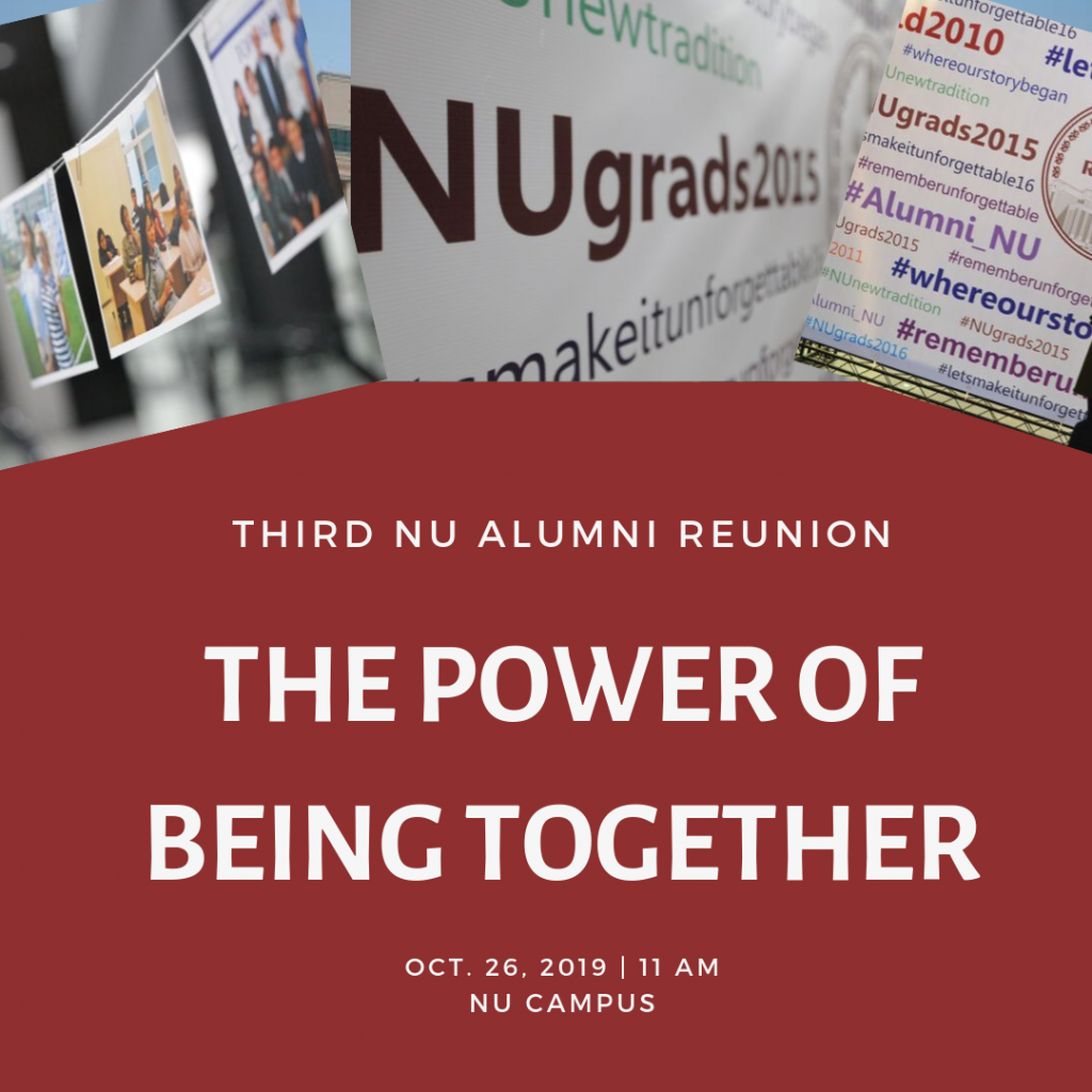 third NU ALUMNI reunion
